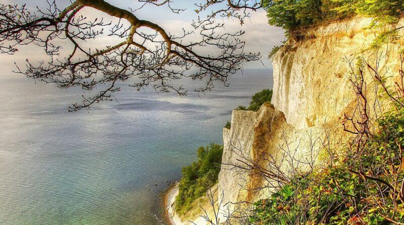 Ostsee Urlaub ist der schönste Urlaub, Mön, Insel, Kreidefelsen, Dänemark, Insel Mön