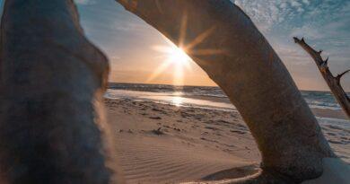 Gemeinde Loissin entdecken und erleben, Urlaub an der Ostsee, Ostsee, Strand, Sonnenuntergang, Meer, Natur