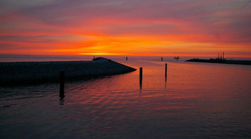 Gemeinde Lubmin entdecken und erleben, Urlaub an der Ostsee, Sonnenuntergang, Sommer, Meer, Abendstimmung, Lubmin
