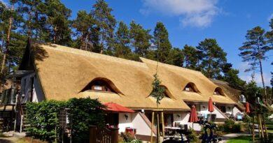 Ostseebad Karlshagen entdecken und erleben, Usedom, Karlshagen, Himmel, blau, Wolken, Urlaub
